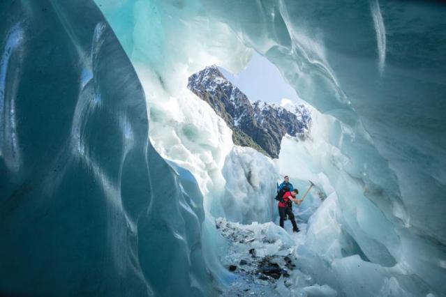 franz joseph new zealand Ice caves
