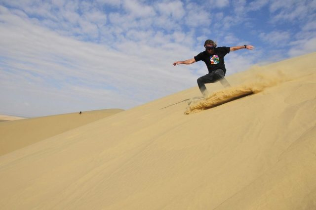 sandboarding- 5 must book tours New Zealand - North Island
