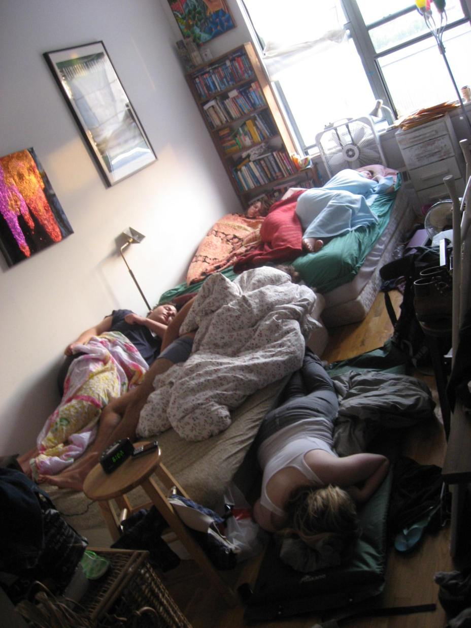 New York Schlafzimmer 1