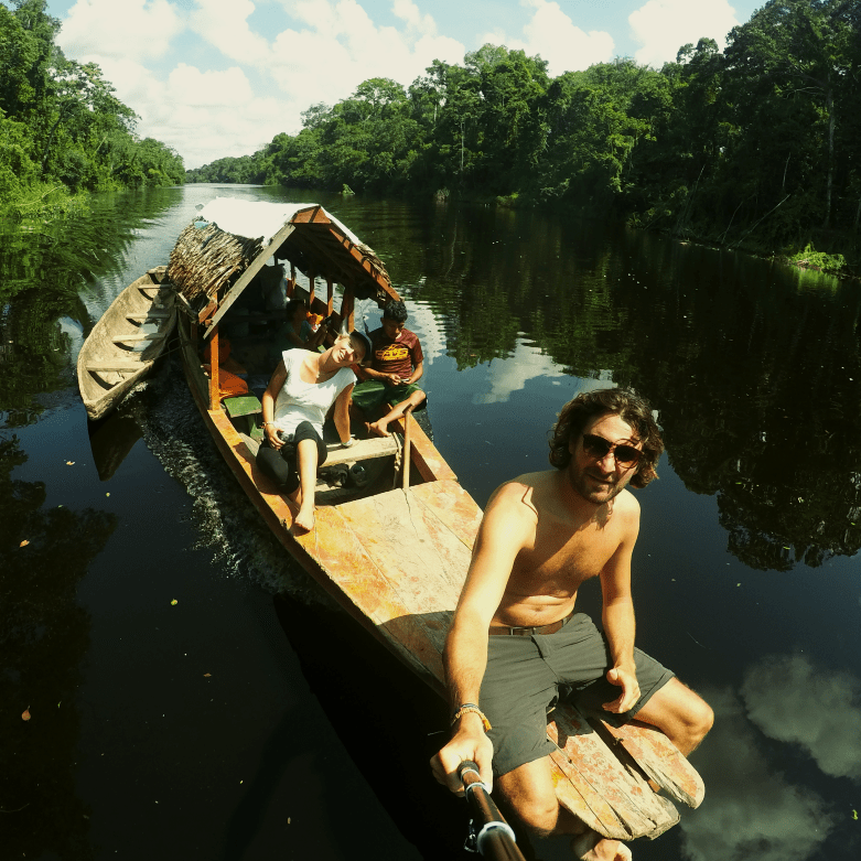 Iquitos and the Amazon forest (Peru)
