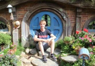 Hobbiton Backpacking Julian Trometer