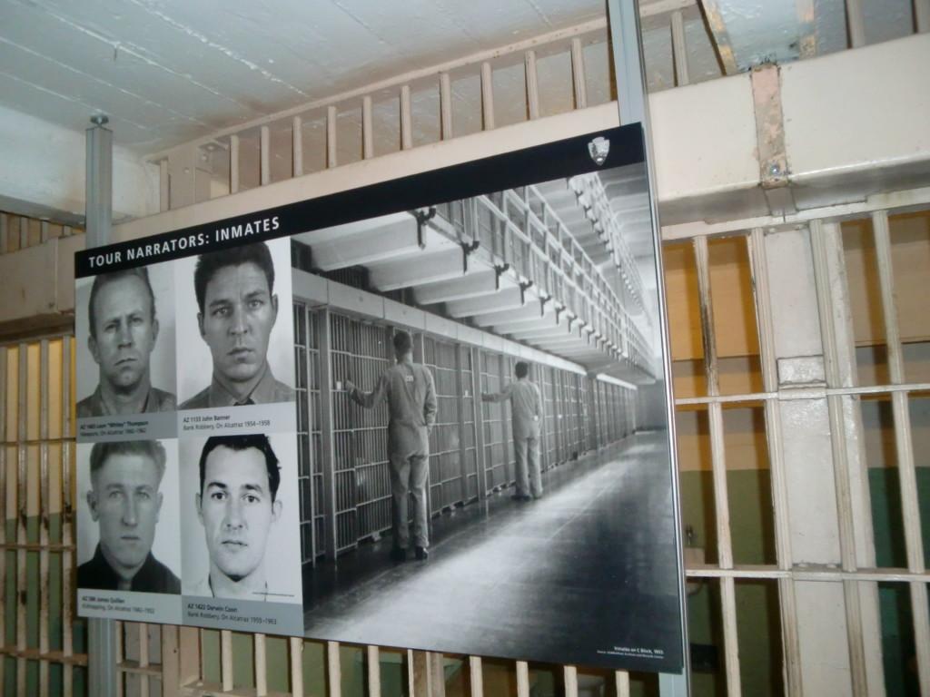アルカトラズ島に収監された凶悪犯たち