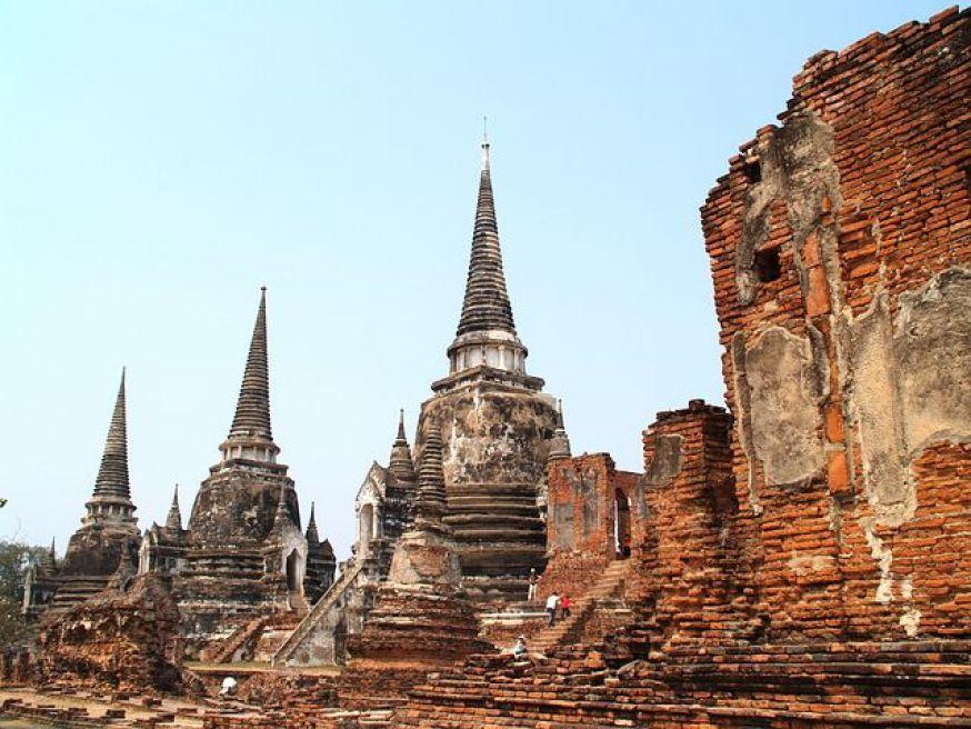 タイ・アユタヤ遺跡 ワット・プラ・シー・サンペット