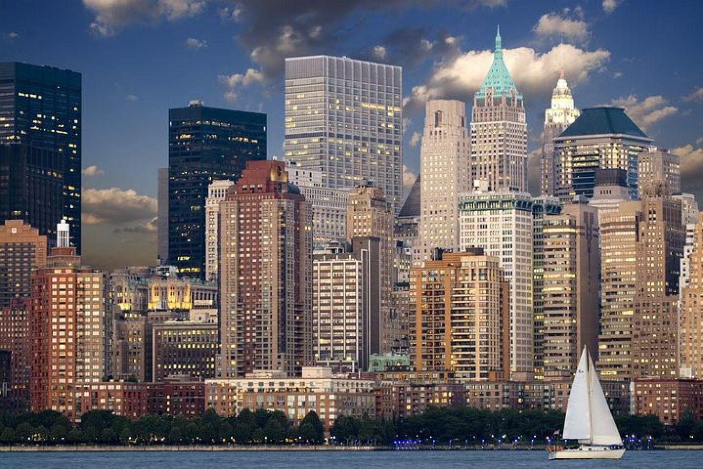 憧れのニューヨークに到着!
