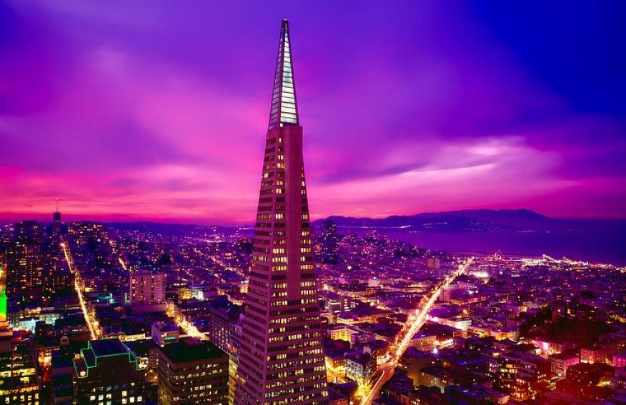 サンフランシスコの夜景
