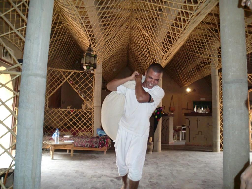 メルズーガでは有名なのりこさんのゲストハウスに宿泊