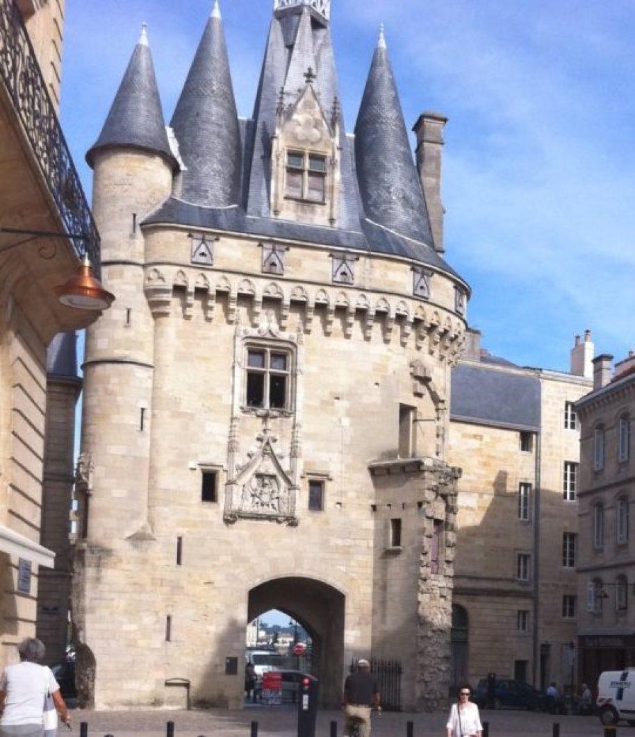 世界遺産に歴史地区として登録されている、ボルドーの旧市街