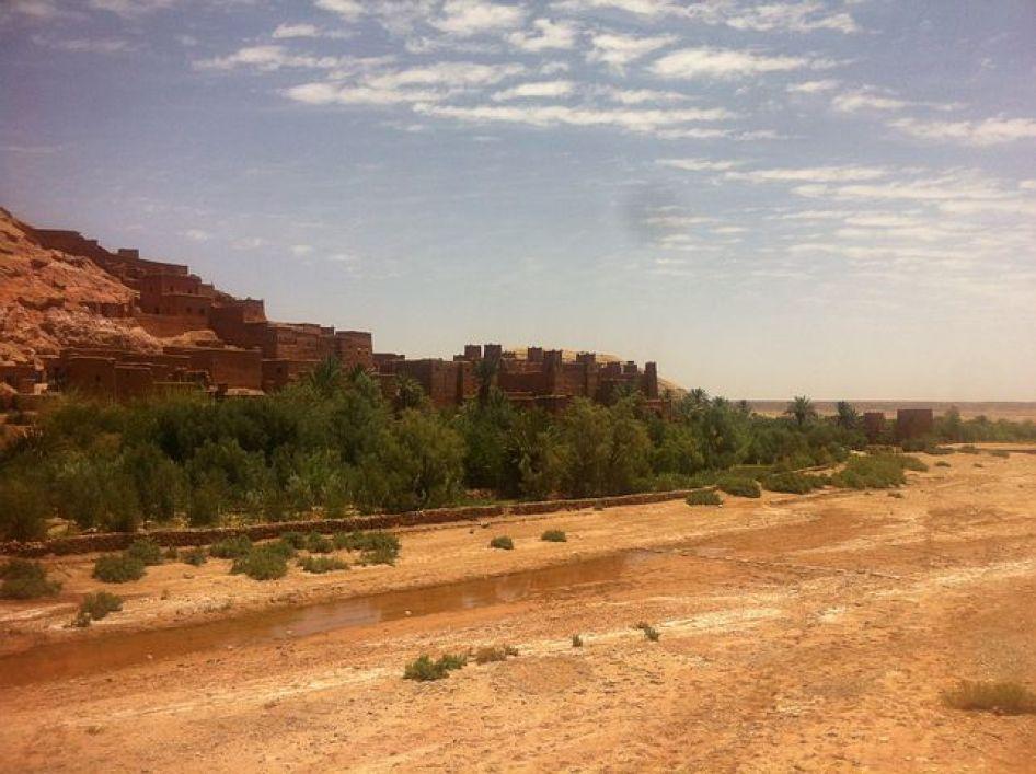 モッロコの旧市街(フェズ・エル・バリ)は、世界一複雑な迷路の町として有名で世界遺産にも登録