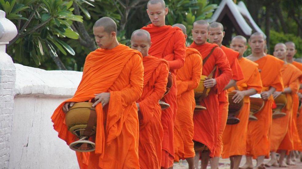 僧侶と寺院の町『ルアンパバーン』