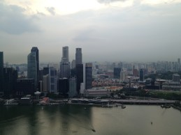 Perfect view of Singapore