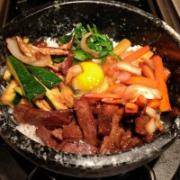 Bibimbap, and how to eat it