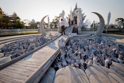 Chiang Rai's infamous Silver Temple