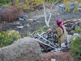 Rural life in the Atlas Mountains