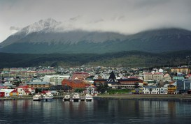 The southernmost city in the world: Ushuaia