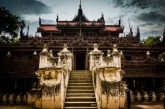 Shwenadaw Monastery, Mandalay