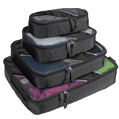Top 5 packing cubes for backpacking and camping