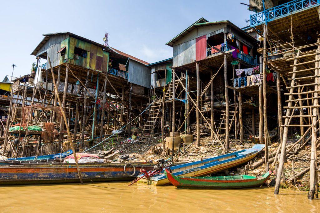 Floating Village Titelbild
