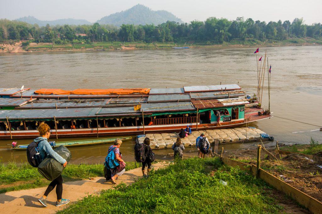 Mit dem Slow Boat auf dem Mekong - Titelbild