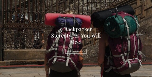 backpacker stereotypes