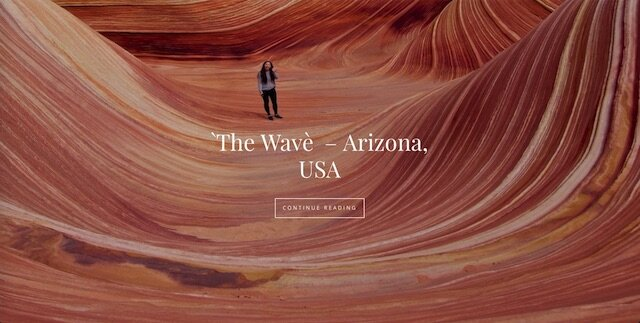 the wave front