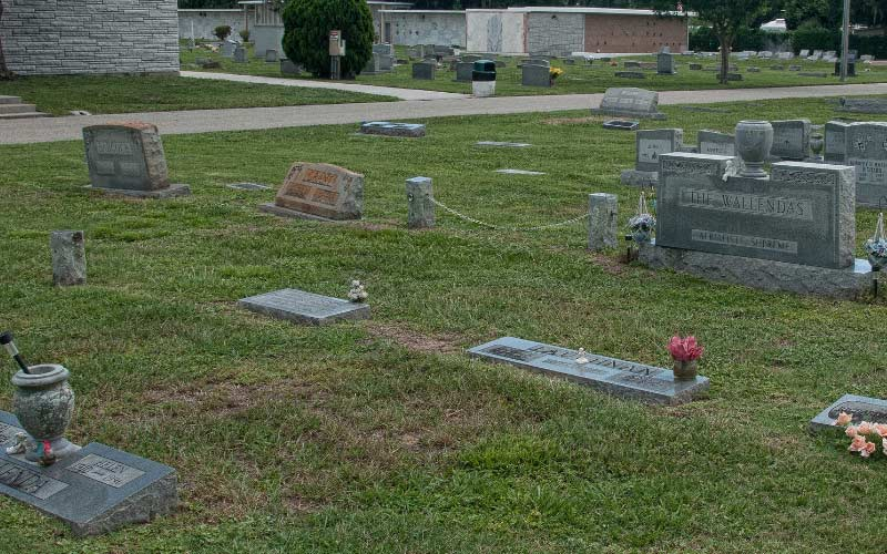 This graveyard in Bradenton, Florida is home to a benevolent spirit who loves to share good news.
