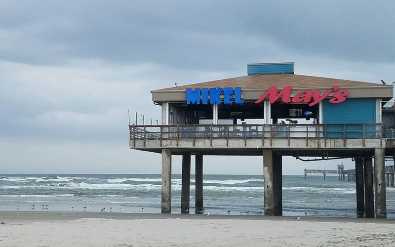 Mikel May's Beachside Bar & Grill in Corpus Christi, Texas