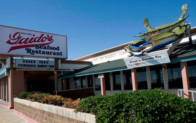 Gaido's Seafood Restaurant in Galveston, Texas