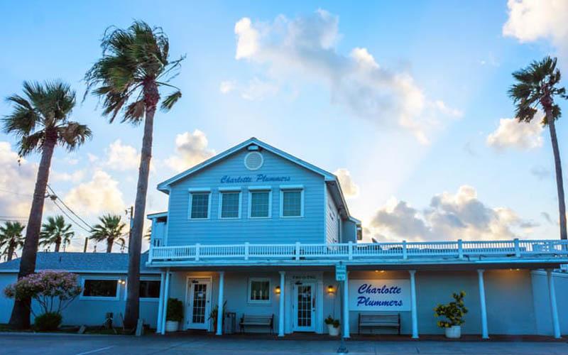 Charlotte Plummer's Seafare Restaurant in Fulton, Texas