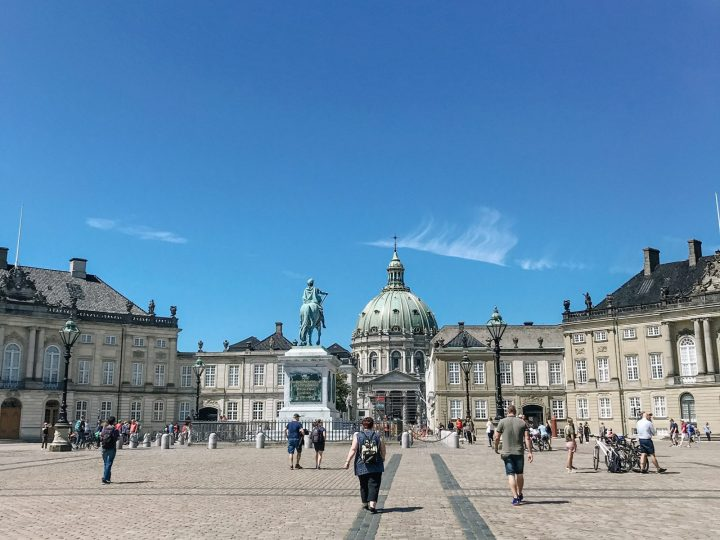Amalienborg Slot places to see in copenhagen