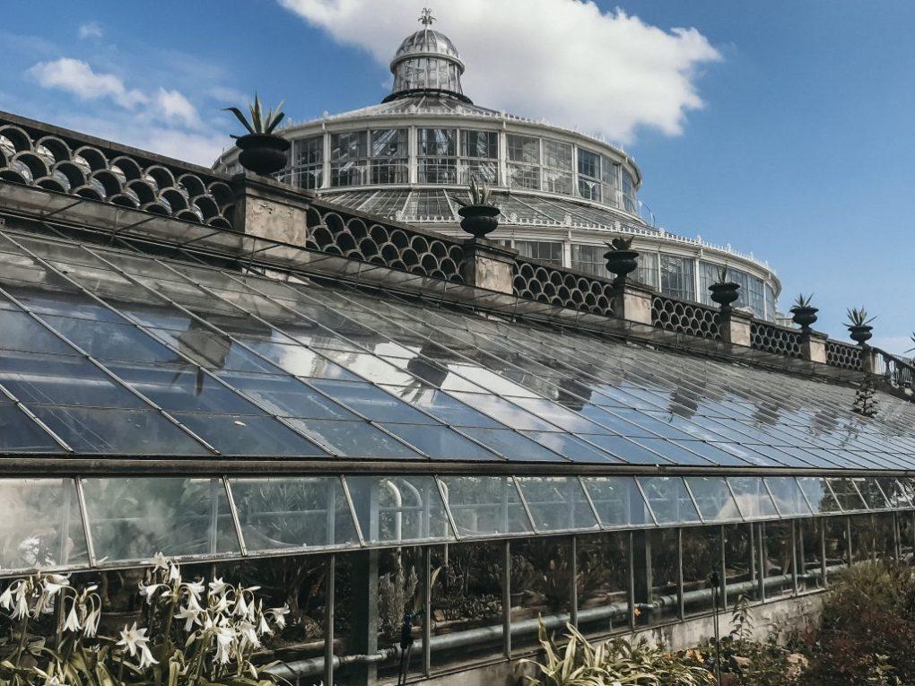 botanical garden in copenhagen