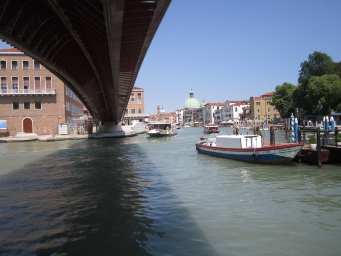 My first shot of Venice's canals