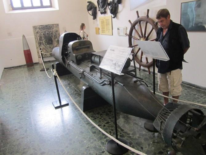 A rideable torpedo