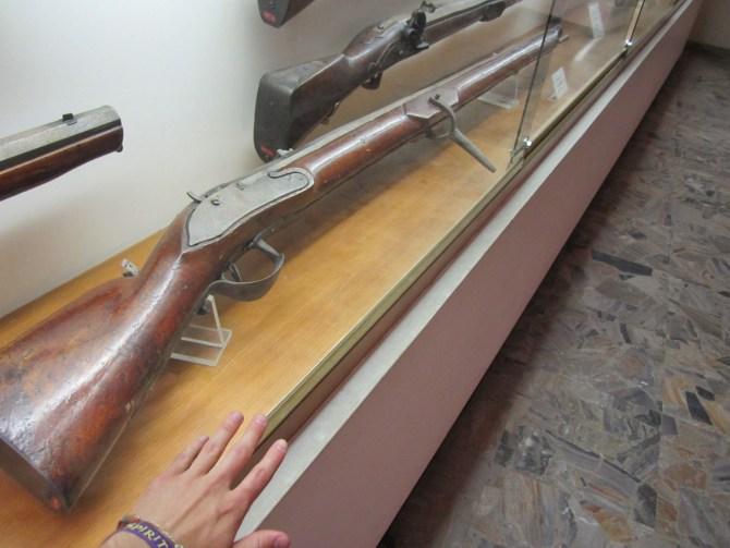 A large musket/gun
