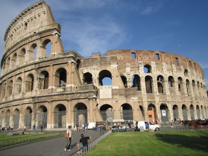 And the Colosseum itself!