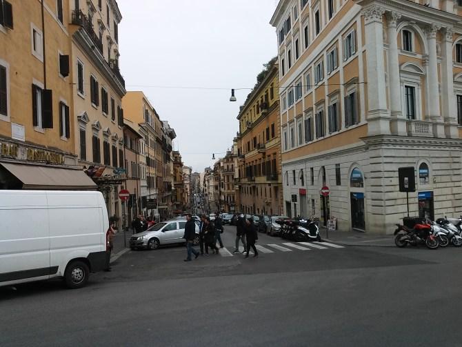 Just a long street
