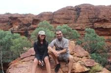 Christian (Canada) & me @ King's Canyon