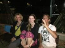 My 'Queensland' travel buddies Andrea, Nicole & Collin