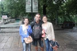 Kung, Gianna & me @ Pingjian road