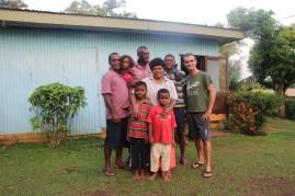 Save, Kesa, John, Singh, Maku, Nani & me at their home in Barara, Sabeto