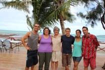 Me, Helen, Patsy, Joakim, Elena & Carlos... bounded for life!