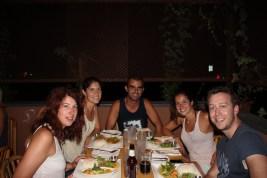 Melisa, Laura, me, Melody & Chris @ Thai Sapa restaurant (Springdale, Utah)