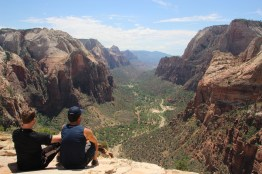 View on main canyon from 'Angel's Landing'