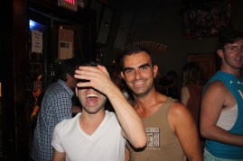 Vincenzo & me @ Spotted Cat in Frenchmen Street