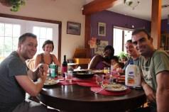 Breakfast with Annette, Hamilton & little Seelah