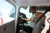 Flying the Nasca lines