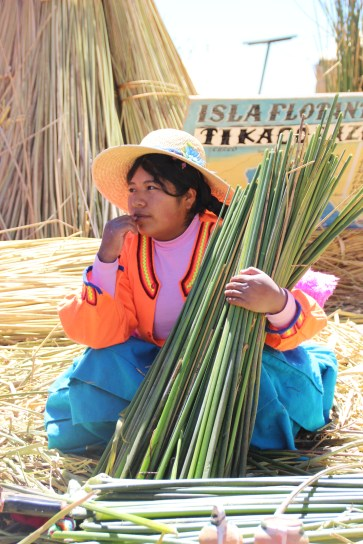 The ancient Urros people of Lake Titicaca