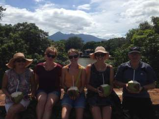 Coconuts and volcanoes