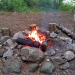 Dawley Pond Shelter fire ring