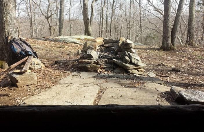 Legend Wood Shelter fire