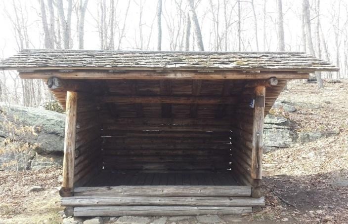 Legend Wood Shelter front